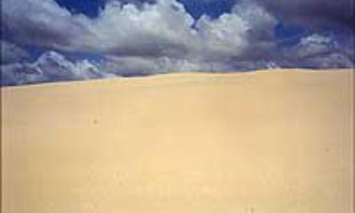 Sand - fra verdens største sandøy.