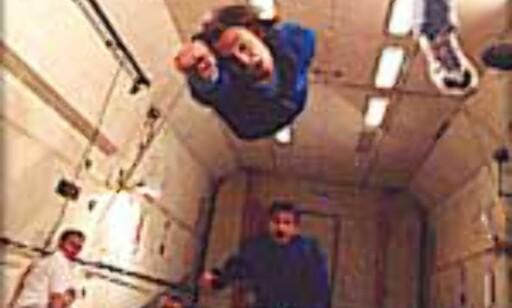 Fly som supermann med null gravitasjon. Foto: Space Adventures Foto: Space Adventures