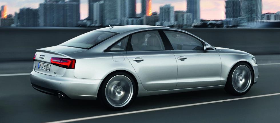 Farbe: Eissilber Foto: Audi AG