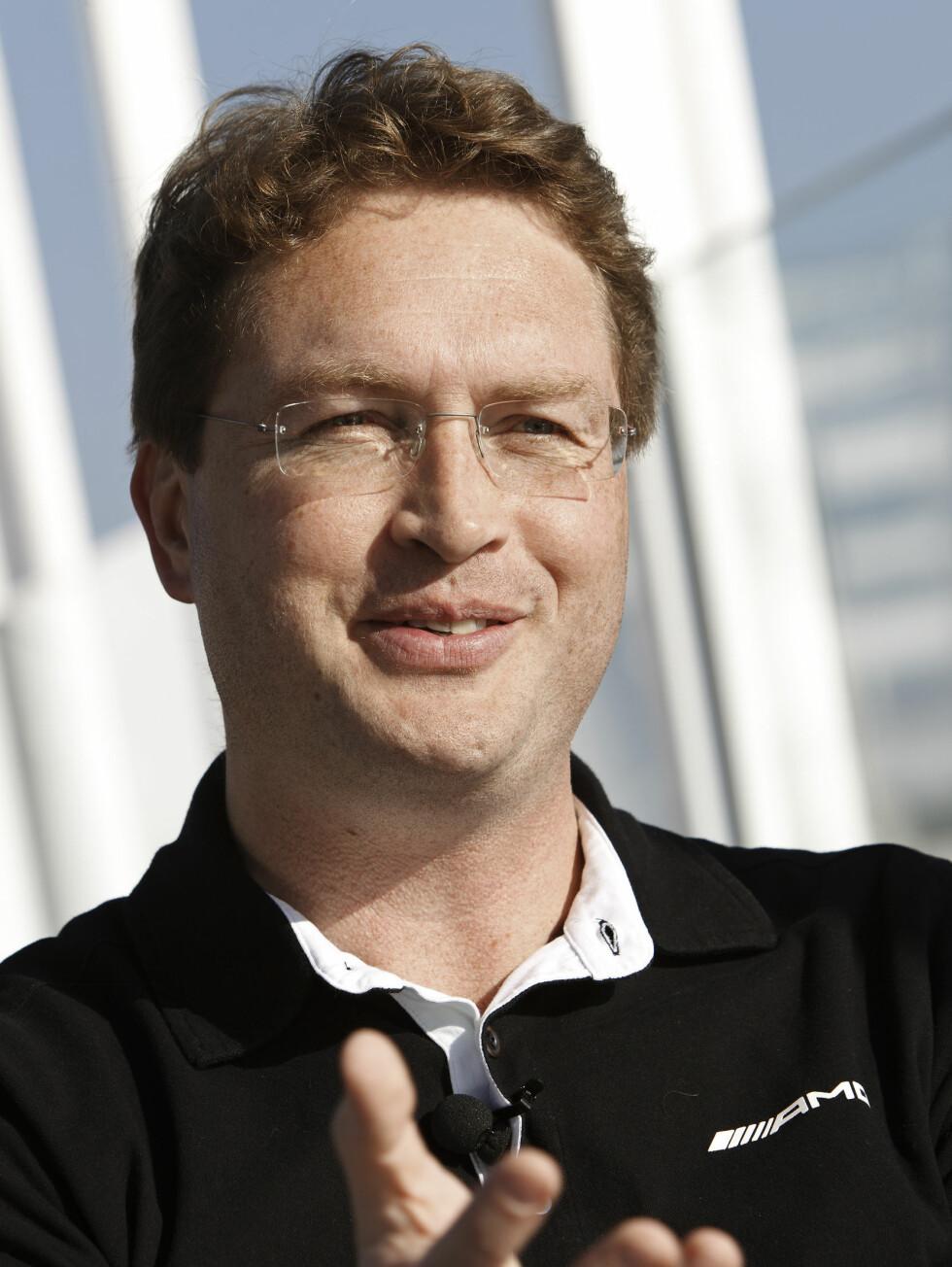 Ola Källenius, Geschäftsführer der Mercedes-AMG GmbHOla Källenius, CEO of Mercedes-AMG GmbH Foto: Mercedes-Benz