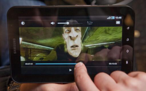 NESTEN FULL HD: Videofiler i HD fungerer fint så lenge du holder deg til 720p. Foto: Per Ervland