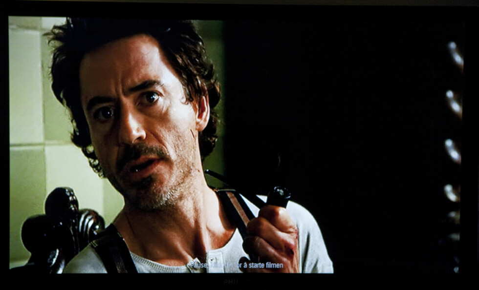 Philips Film2Home: Traileren til Sherlock Holmes Foto: Per Ervland