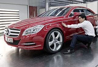 Mercedes viser CLS