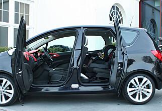 Vi har kjørt nye Opel Meriva