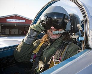 image: Jagerflyver for en dag - i Norge
