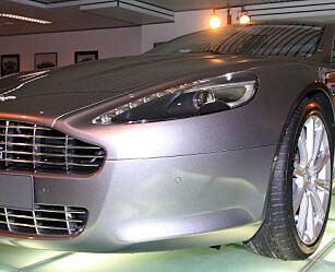 image: Prøvesitt i Aston Martin Rapide