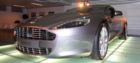 Prøvesitt i Aston Martin Rapide