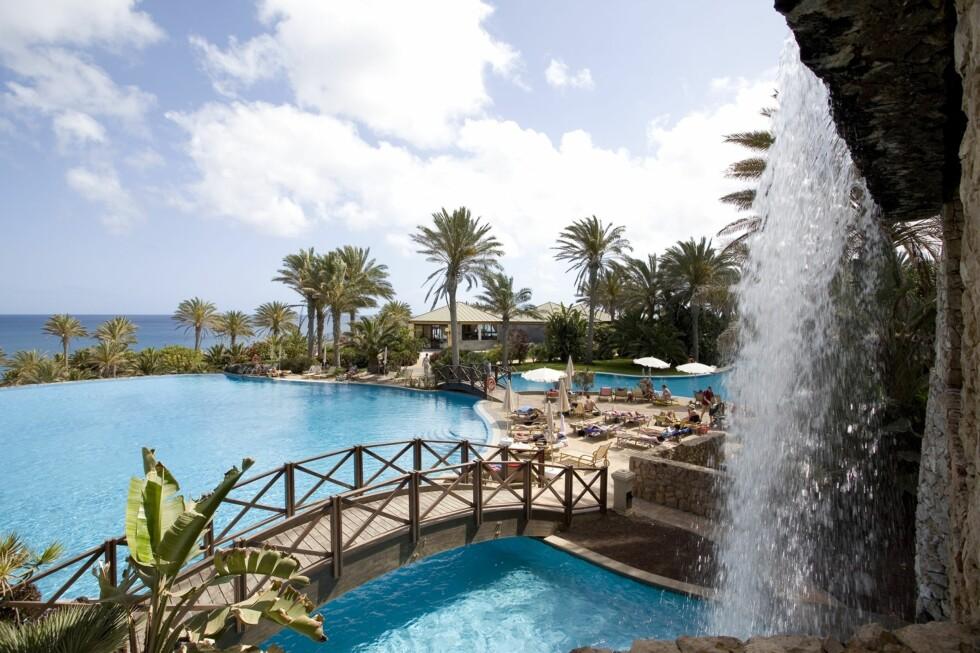 Bassenget på hotellet Rio Calma på Fuerteventura. Foto: Rio Calma