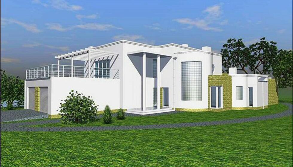 Villa Moderna fra Urbanik Hus. Bildet er gjengitt med tillatelse fra produsenten.