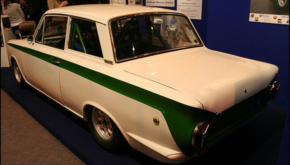 Ford Lotus Cortina - en legendarisk aktør i billøp på 60/70-tallet