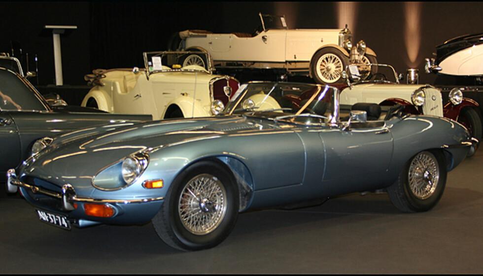 En vakker Jaguar E-type