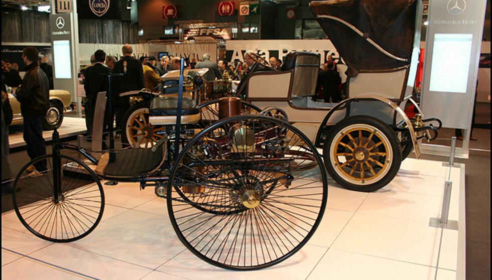 Forfaren: Motorisert trehjuling av Karl Benz