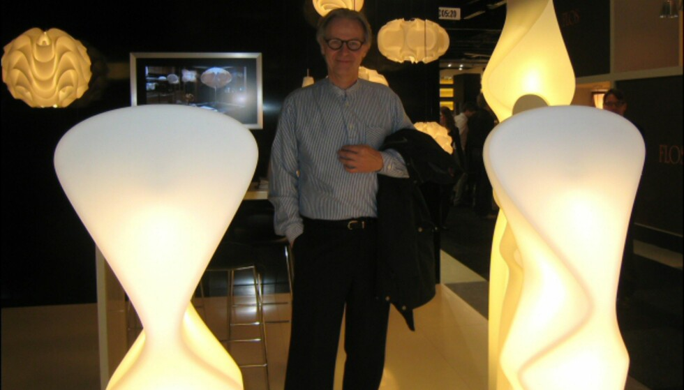 Poul Christensens lamper for LeKlint; foran årets nyheter Elysium, bak er flere tiår gamle klassikere.