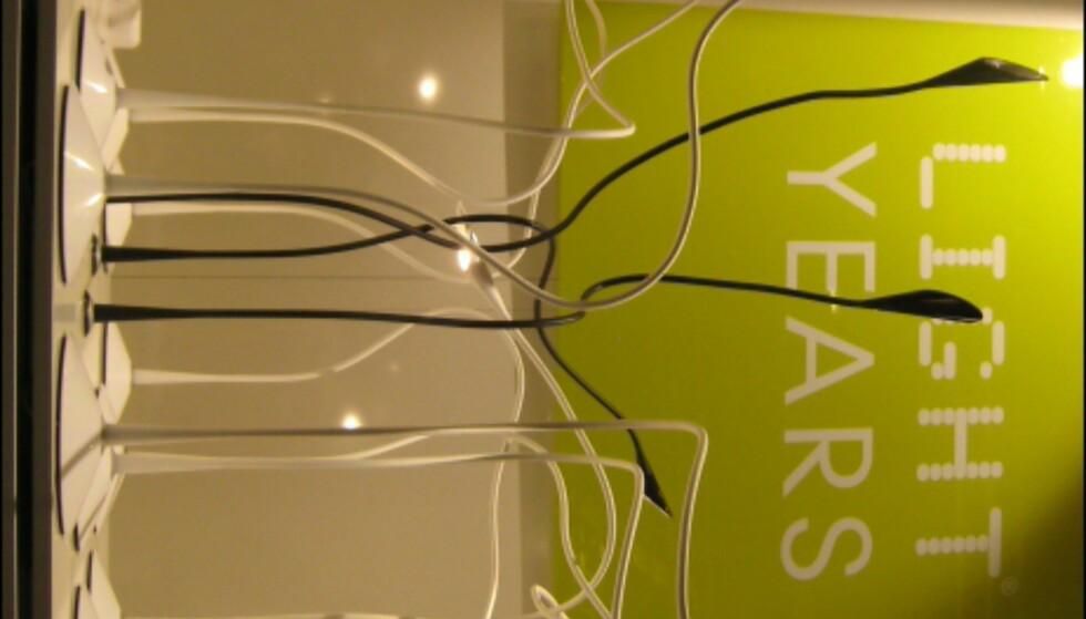 Slangelignende skrivebordslamper fra Lightyears.