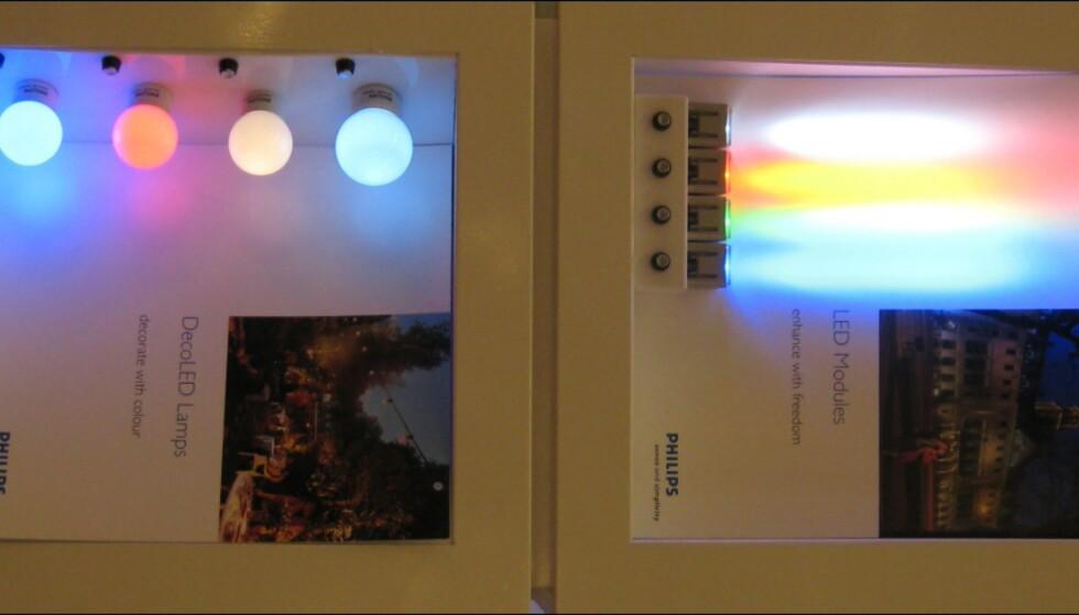 LED-lys fra Philips.