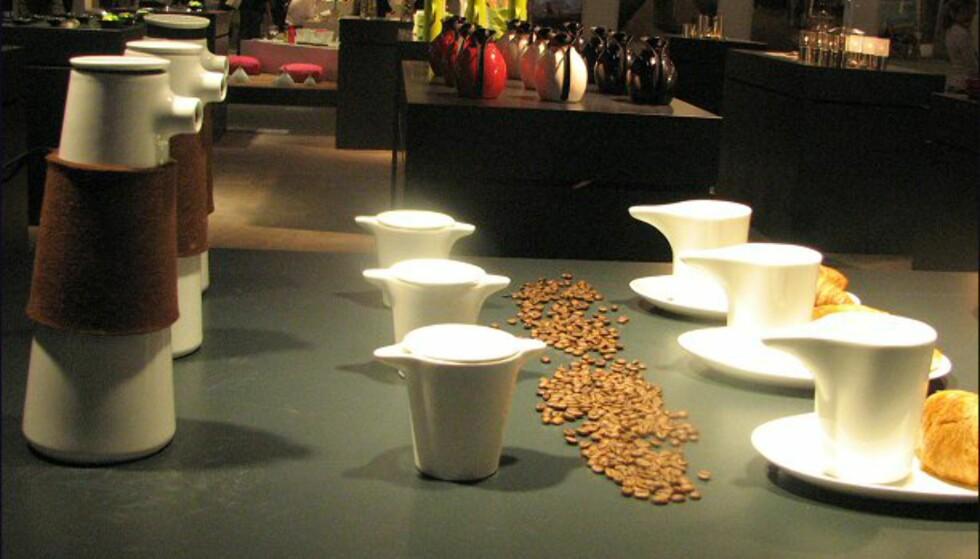 Flere nyheter fra Stelton: Så er det kaffebesøk...