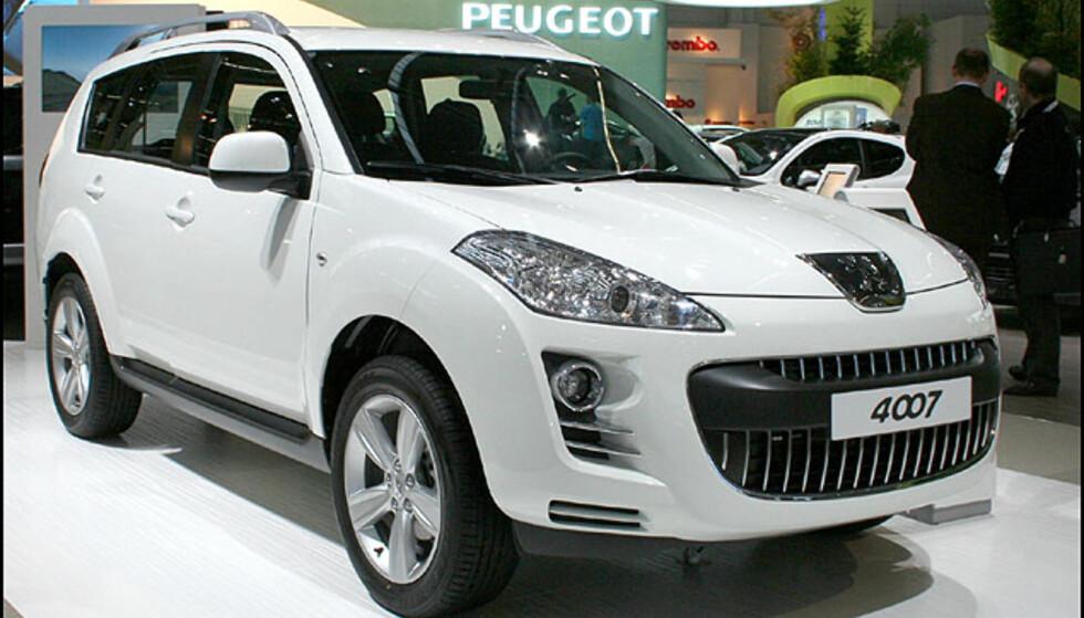 Peugeot-SUV: 4007