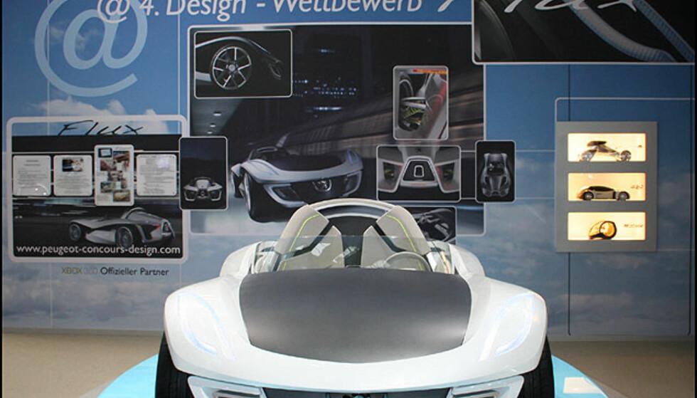 Prisvinneren Peugeot Flux designet av Mihai Panaitescu for en web-basert designkonkurranse