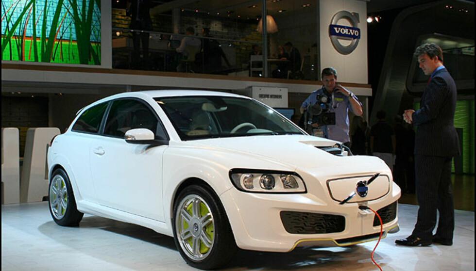 Plug-in hybrid Volvo C30