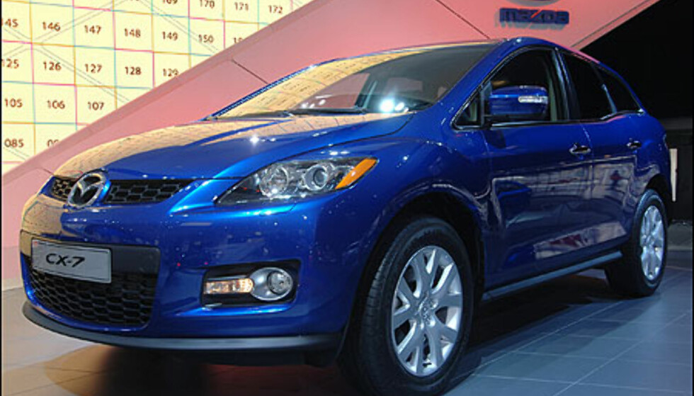 Mazda CX-7 - Europapremière for den sporty Cross-overen
