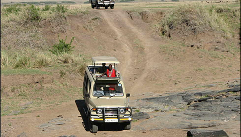 Fotoalbum: Med LC 70 i Kenya