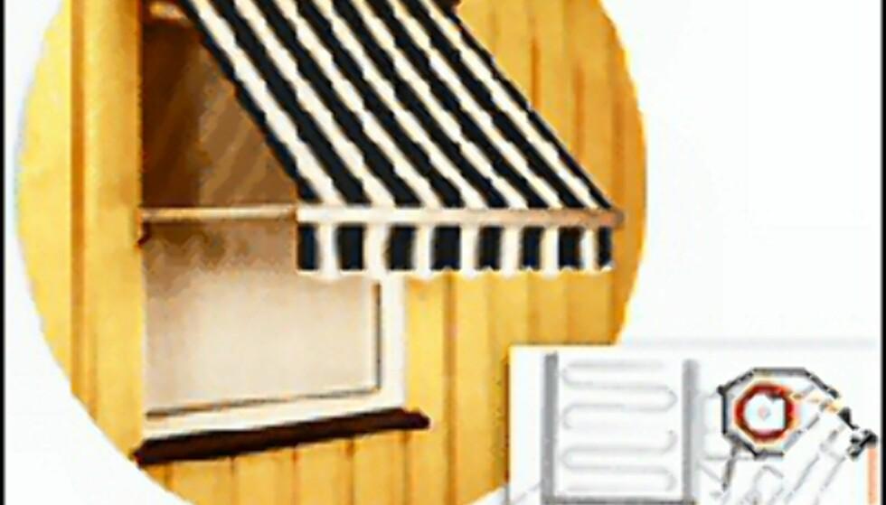 Vindusmarkise fra Markisekonsulenten. Foto: www.markisekonsulenten.no
