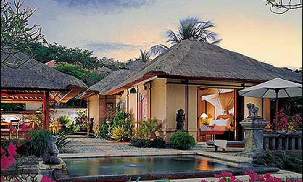Four Seasons på Bali.