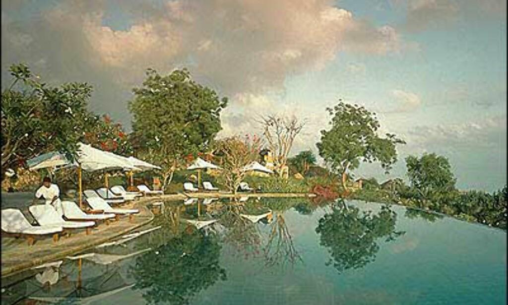 Bading på Bali -