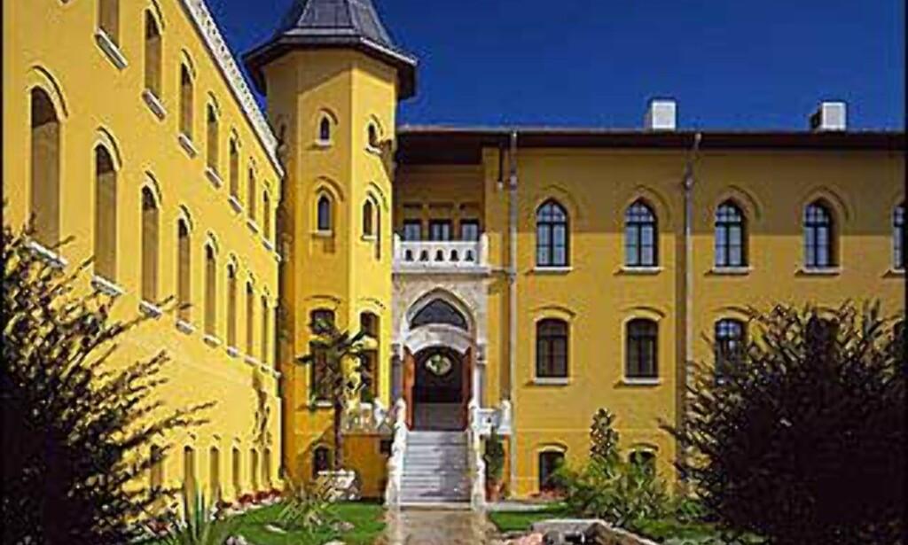 Four Seasons i Istanbul er et ombygget fengsel.