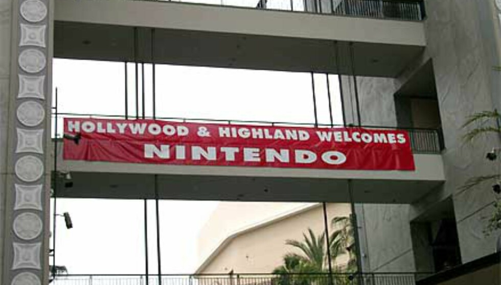 Nintendo dominerte dette komplekset i Hollywood