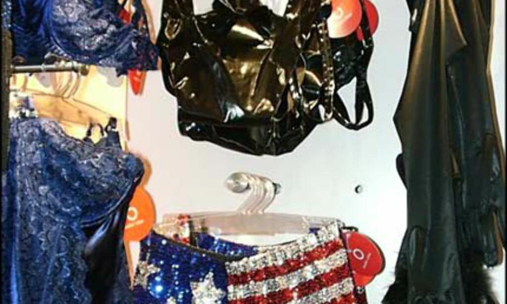 Stars & Stripes panty - fra Beate Uhse.  Pris = 750.-