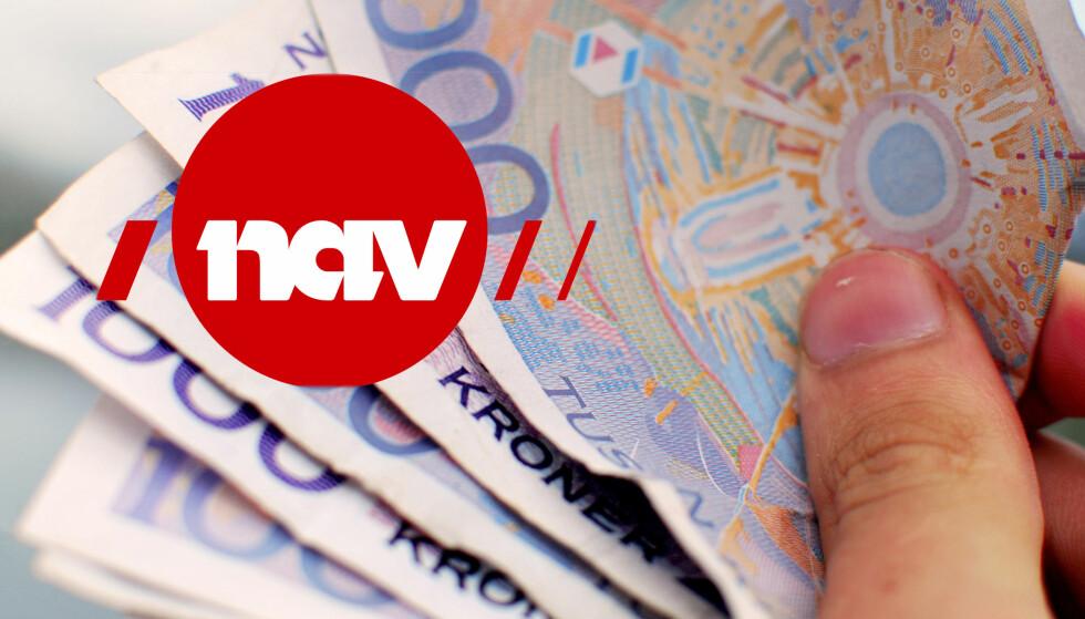 NÅR KOMMER PENGENE I DESEMBER: Vi gir deg oversikt over når man får penger fra Nav i desember, og hvor mye du trekkes i skatt. Foto: NTB Scanpix