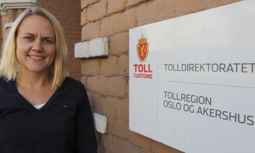 NORDISK AVTALE: Grunnen for begrensningenene i taxfreesalget er en nordisk avtale, forteller seksjonssjef Sonja Finne i toll- og vareførselsavdelingen i Tolldirektoratet. Foto: Tolldirektoratet