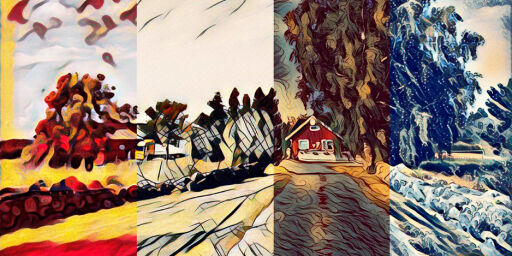 image: Lag kunsteffekter både på bilder og video