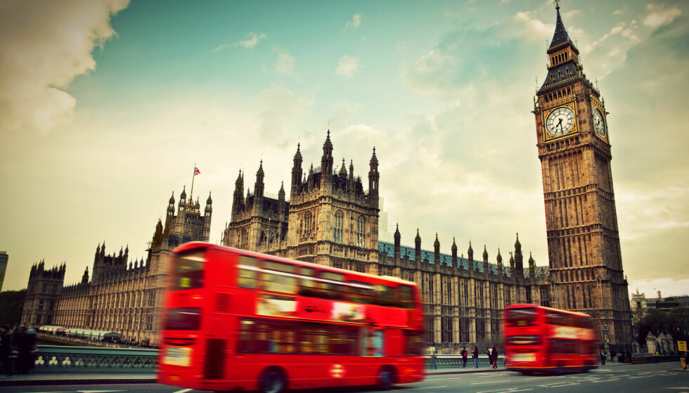 SVAKERE BRITISK PUND: Kursen på britiske pund er ikke lenger like skremmende som for bare noen måneder tilbake. Foto: SHUTTERSTOCK/NTB SCANPIX