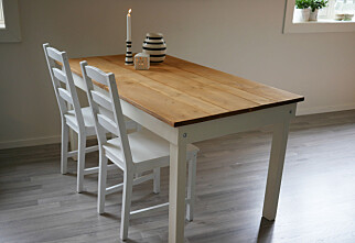 Kjøkkenbordet bygger du selv