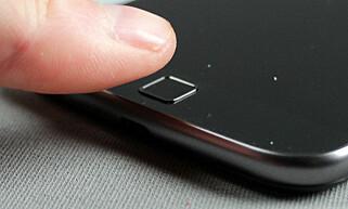KJAPP: Men Motorola kunne med fordel også ha brukt fingeravtrykksleseren som en hjemknapp. Foto: Pål Joakim Pollen