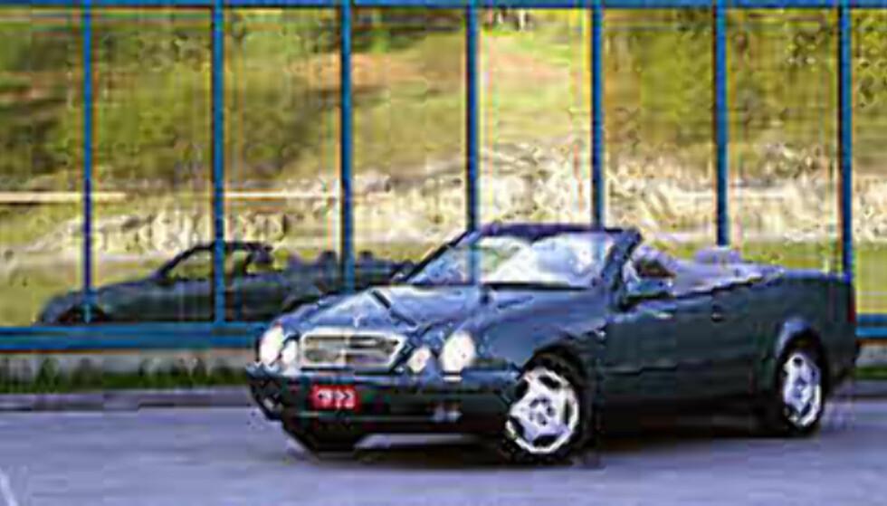 TEST: Mercedes-Benz CLK 320 cabriolet - Et glidende glis...