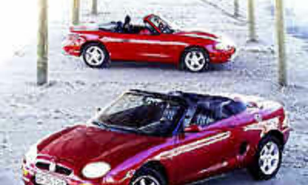 image: DUELL: MGF møter Mazda MX-5