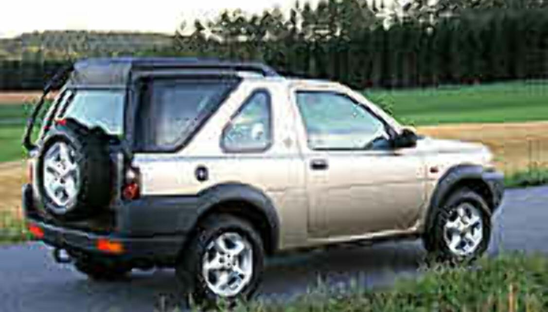 Luftig varebil fra Land Rover