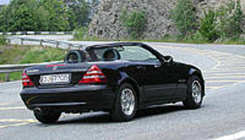 TEST: Mercedes-Benz SLK 200 - Endelig med riktig motor!