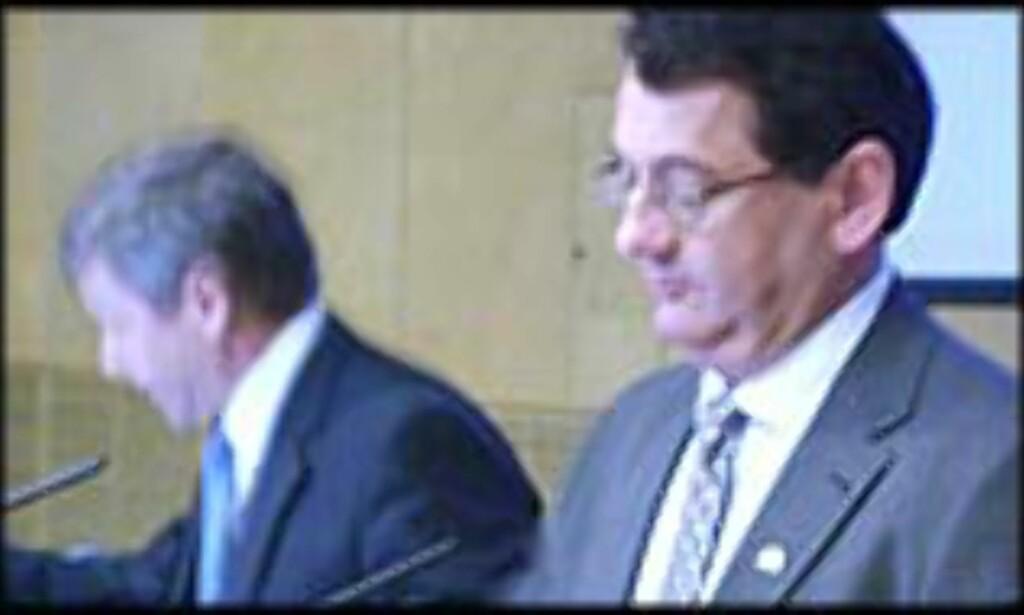 Statsministeren og finansministeren