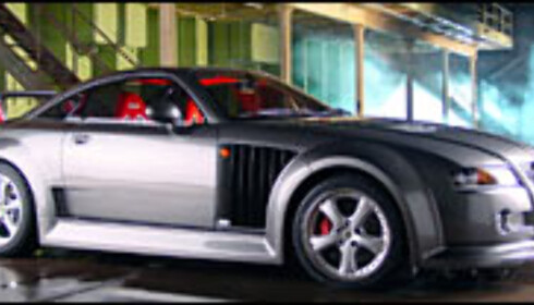 MG XPower SV: 965 hk og lystgass
