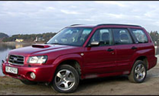 image: TEST: Subaru Forester 2.0 XT