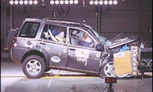 SVAKT: Land Rover Freelander måtte nøye seg med usle 20 poeng.