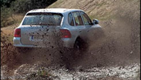 Porsche i terrenget