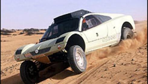 VW satser på kvinne i ørkenrally
