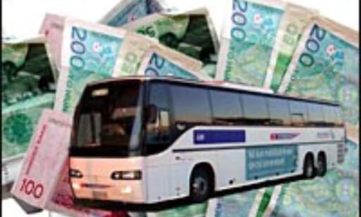 SAS Flybussen er billigst for familien, når vi ser på priser fra sentrum.