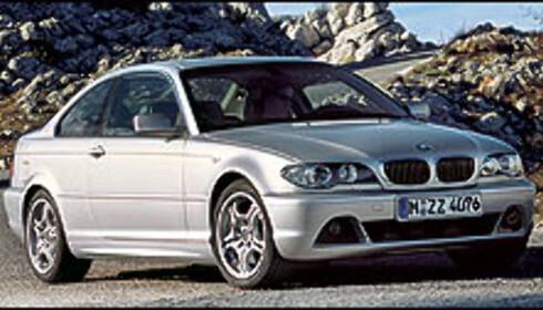 BMW med sterk 330 Cd