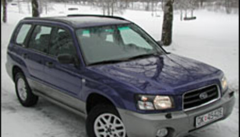 TEST: Subaru Forester 2.0 X